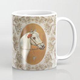 Arabian Horse portrait Coffee Mug