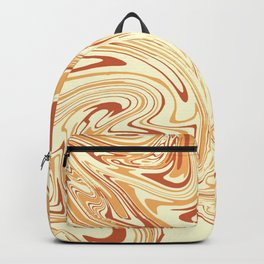Caramel abstract marble 2 Backpack