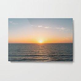La Jolla Sunset 02 Metal Print
