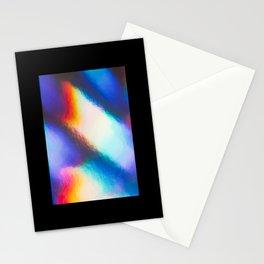 Iridescent metallic refraction Stationery Cards