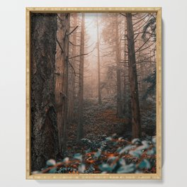Surroundings    Ethereal Forest Serving Tray
