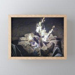 Campfire Delight Framed Mini Art Print