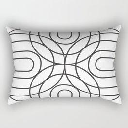 rainbow mess tile 2 Rectangular Pillow