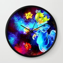 The Queen of Galaxies Wall Clock