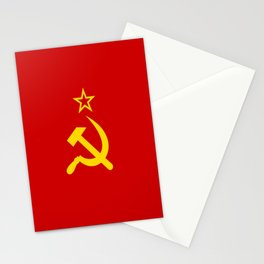 Flag of USSR Stationery Cards
