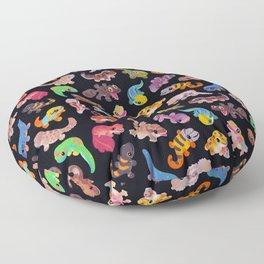 Gecko Floor Pillow