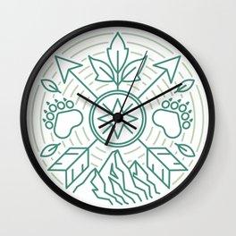 Ranger Emblem Wall Clock