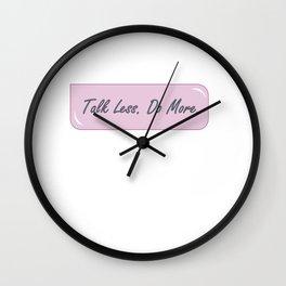 Productivity Reminder Wall Clock