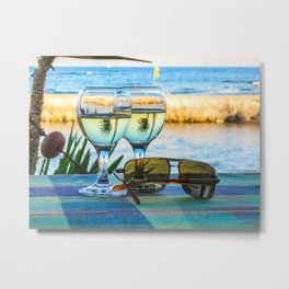 Summer still life Metal Print