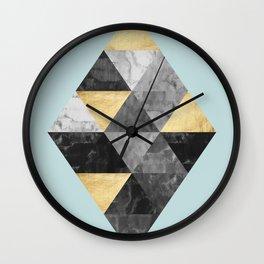 Scandinavian composition V Wall Clock