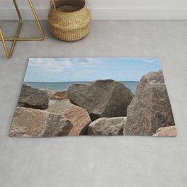 Heart-Shaped Rock Rug
