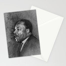 """Dr. King """"I've Been to the Mountaintop"""" (April 3 1968) Stationery Cards"""