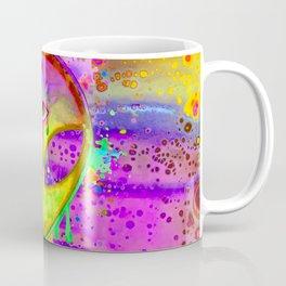 Alien Melt - yellow Coffee Mug