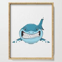 Ezekiel Baby Shark Kids Funny T-Shirt Serving Tray