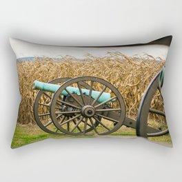 Cannon amongst the Corn Antietam National Battlefield Civil War Battleground Maryland Rectangular Pillow