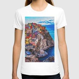 Italy, Cinque Terre T-shirt