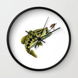 Largemouth Bass Whisperer Funny Fishing Gift Wall Clock
