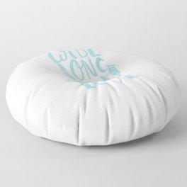 LOVE inifinite - BLUE Floor Pillow
