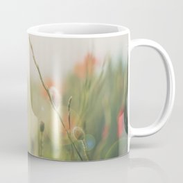 Poppy fields photograph Coffee Mug