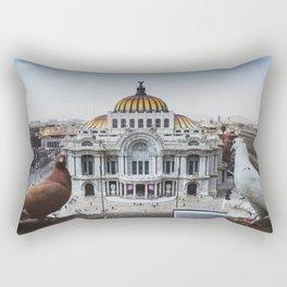 Rey Palomo Enjoying The View Rectangular Pillow