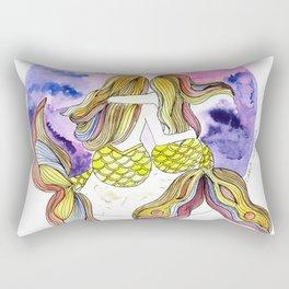 Mamá Sirena e hija Rectangular Pillow