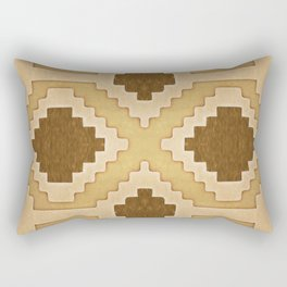 Western Leather Kalim Rectangular Pillow