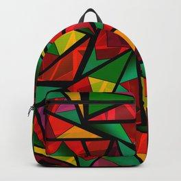 Geometric polygonal Backpack