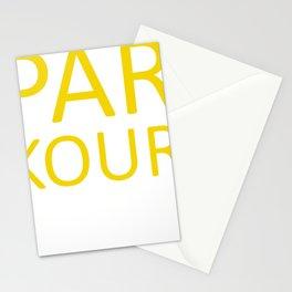 Parkour Parkour Runner Traceure Runner Sport Cool Stationery Cards