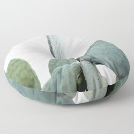 Mint Green Cactus Floor Pillow