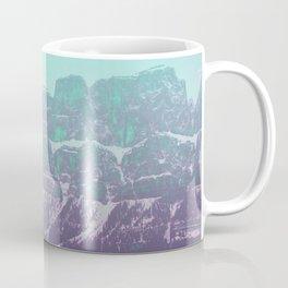 Teal and Purple Mountains Coffee Mug