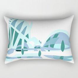 Ciudad de las artes y las ciencias Rectangular Pillow