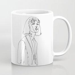 minimal drawing  Coffee Mug