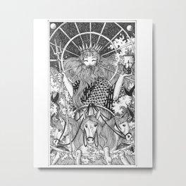 Poseidon Metal Print