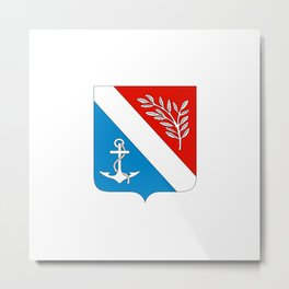 flag of Porsgrunn Metal Print