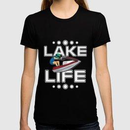 Jet Ski Gift Lake Life Beach Holiday Funny Jetski T-shirt