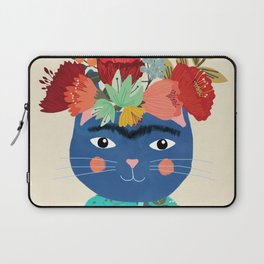 Frida Cat Laptop Sleeve