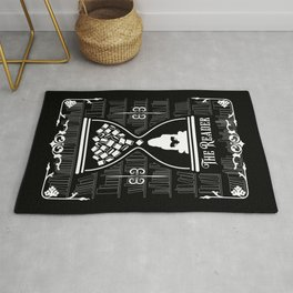 The Reader Tarot Card Rug