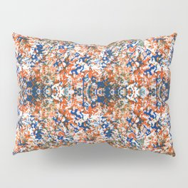 Indian Watercolor Splash Pillow Sham