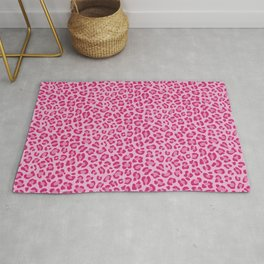 Leopard - Lilac and Pink Rug