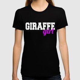 Giraffe girl T-shirt