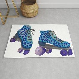 Spotted Roller Skates Rug