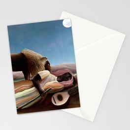 "Henri Rousseau ""The Sleeping Gypsy"" Stationery Cards"