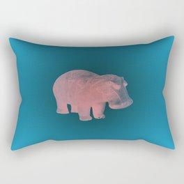 WILLIAM THE HIPPO VI Rectangular Pillow