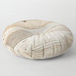 Rustic Barn Board Wood Plank Texture Floor Pillow