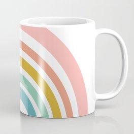 Simple Happy Rainbow Art Coffee Mug