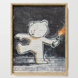 Banksy's Big Bad Bear Serving Tray