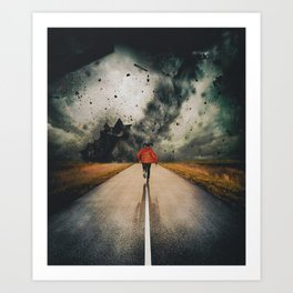 Against All Instinct Art Print