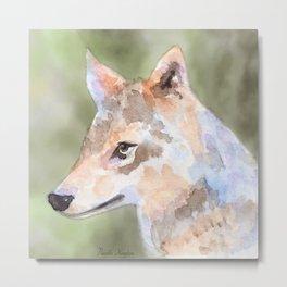 Lone Wolf Metal Print