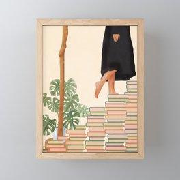Books Framed Mini Art Print