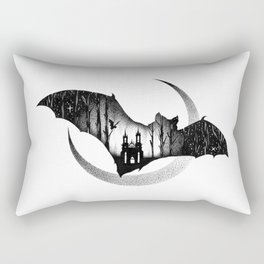 WHEN THE NIGHT COMES Rectangular Pillow